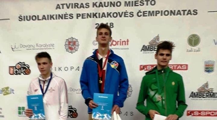 Калининградцы привезли 9 медалей из Литвы