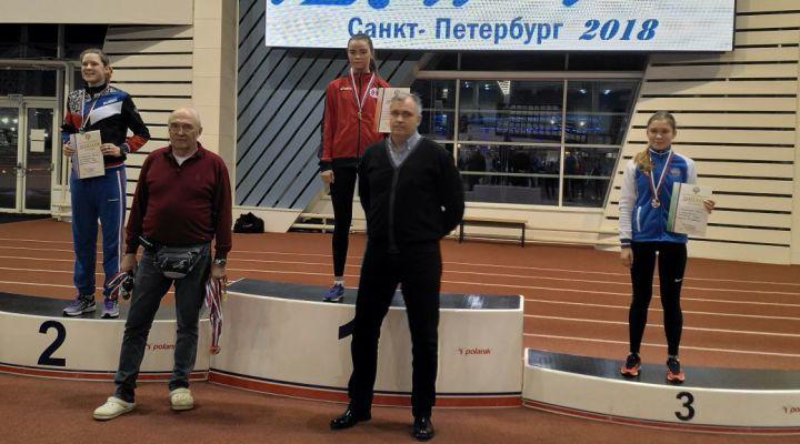 ПР-2017 среди кадетов «А». Золотую медаль завоевала Яна Соловьёва