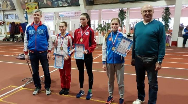 Всероссийские соревнования девушек выиграла Яна Соловьёва