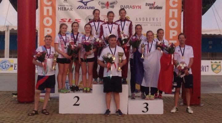 ЧЕ-2017 среди кадетов «В». Девушки завоевали две серебряных медали