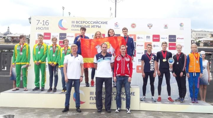 Смирнов и Галухина – победители Пляжных игр и первенства России по триатлу