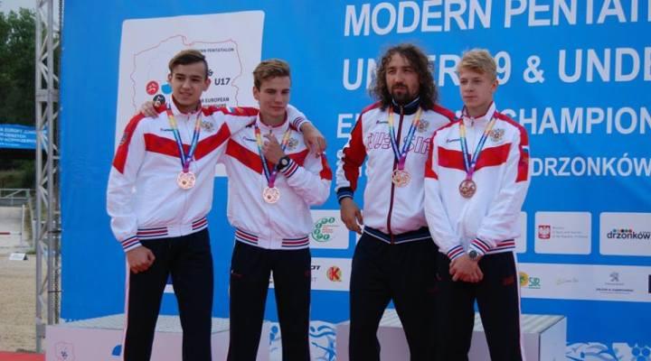 ПЕ-2018 среди кадетов «В». Наши юноши завоевали «бронзу» в командном турнире