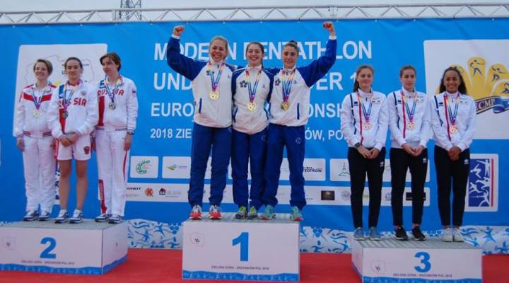 ПЕ-2018 среди кадетов «А». Российские спортсменки взяли командное «серебро»