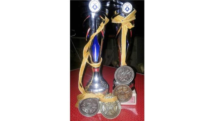 Шесть наград из Испании
