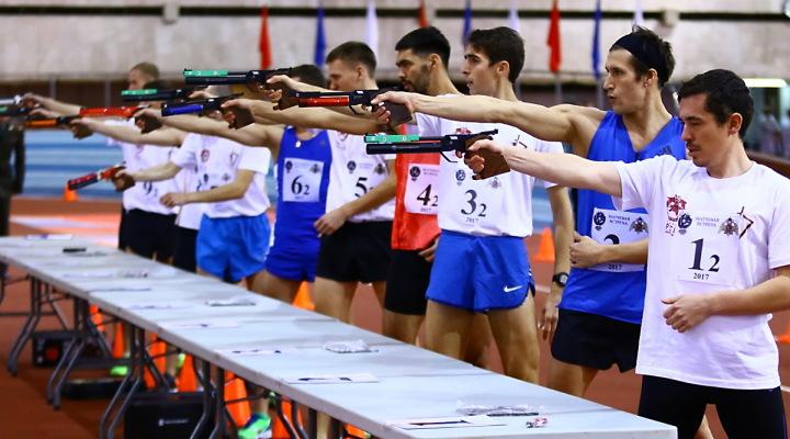 Прошла встреча между командами Федерации современного пятиборья России и спецназа Росгвардии