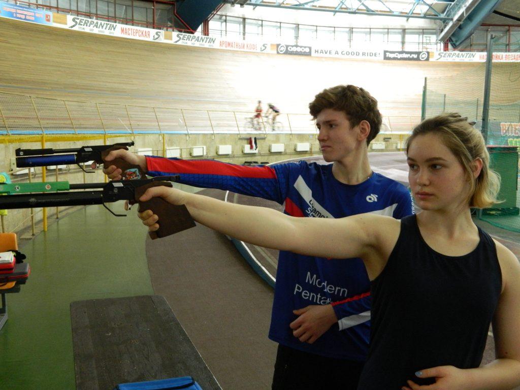 Тренировка молодежной сборной Подмосковья