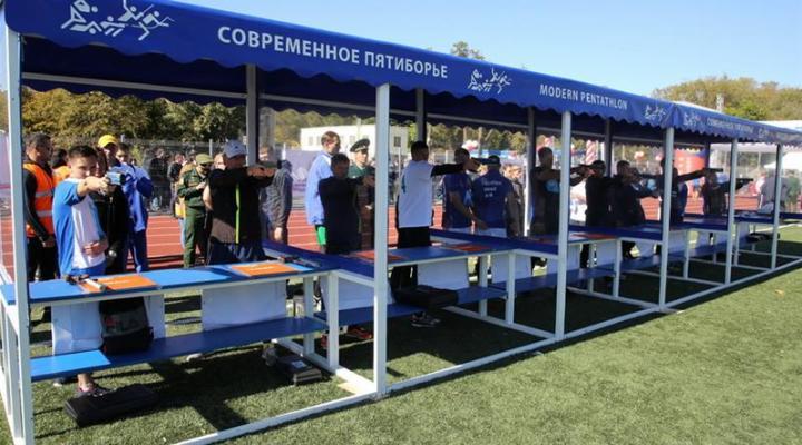 В Ростове-на-Дону прошел турнир по триатлу среди команд силовых структур