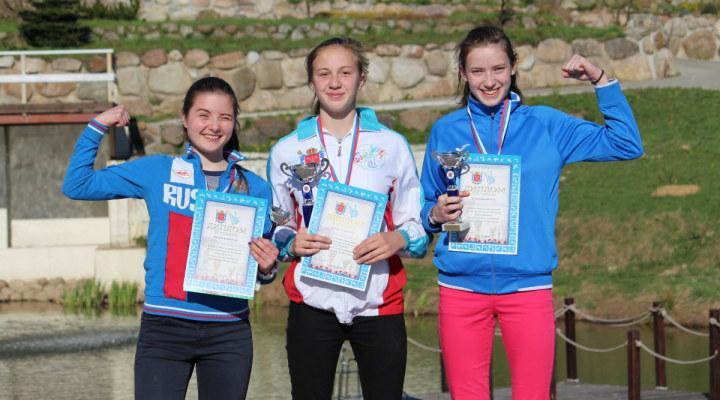 Соревнования по троеборью в Санкт-Петербурге выиграли Владимир Заболотских и Дина Фандо