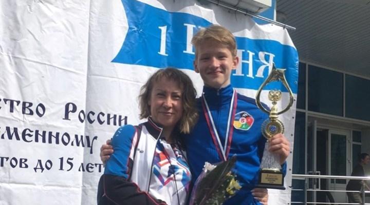 Перегонцев и Скуднякова – лучшие двоеборцы России