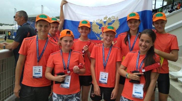Екатеринбуржцы выступили на чемпионате мира по лазер-рану