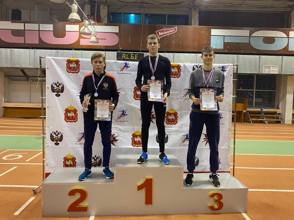 Подмосковный спортсмен Максим Малышев — серебряный призер Всероссийских соревнований